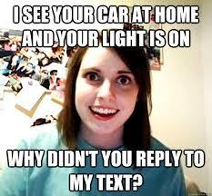 Overly Attached Girlfriend memes | quickmeme via Relatably.com