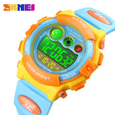 SKMEI <b>Brand</b> Sport Children Watch Stopwatch Chronograph ...