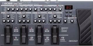 Обзор <b>гитарного процессора</b> эффектов <b>BOSS ME</b>-<b>80</b>