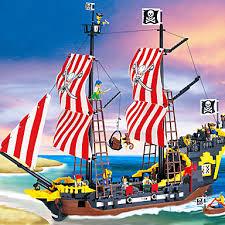 <b>ENLIGHTEN</b> Magnetic Blocks Magnetic Tiles Building Blocks <b>Pirate</b> ...