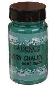 Меловая краска Cadence Very Chalky <b>Home Decor</b>, 90 мл., цвет ...