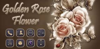 <b>Golden Rose</b> Flower Theme - Apps on Google Play
