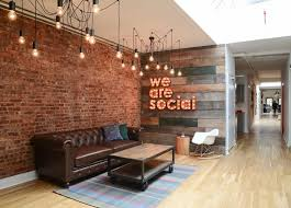a social media agencys innovative office design agency office literally disappears hours