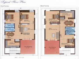 Independent House Villa in Bandlaguda  Sq Ft BHK     BHK Independent House Villa for Sale in SN Enclaves   Floor Plan