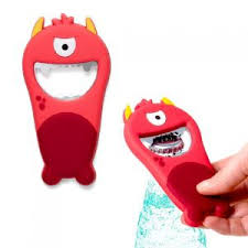 Купить «<b>Открывалка</b> магнитная <b>Monster</b> красная» (Balvi) по цене ...