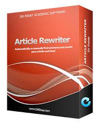article rewriter software  essay rewriting  parapharser   dr essaydr essay article rewriter