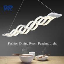 Современная Белая Акриловая <b>Подвесная лампа для</b> столовой ...