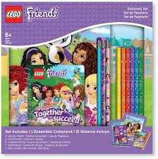 <b>LEGO</b> Набор канцелярских <b>принадлежностей</b> Friends 13 ...