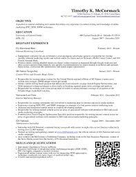 resume timothy mccormack resume