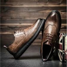 New Arrival Retro Bullock Design Men Classic Business ... - Vova