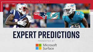 Game Predictions: Expert picks for Patriots vs. Dolphins