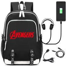 Рюкзак <b>Marvel Avengers</b>, <b>сумка</b> для ноутбука с usb-портом ...
