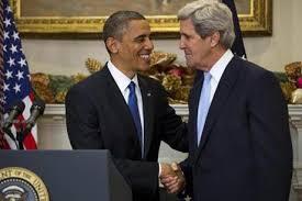 Kerry & obama