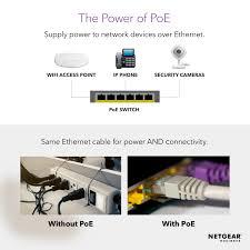 NETGEAR <b>16</b>-<b>Port</b> Fast <b>Ethernet</b> 10/100 Unmanaged <b>PoE</b> Switch
