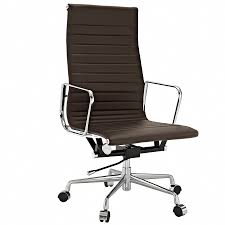 luxury ergonomic office chair aluminium frame full size of seat amp chairs wonderful eames style office brown leather office chairs