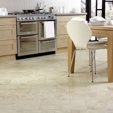 kitchen floor tiles small space: graphic white tile kitchen flooring ideas for contemporary dining room sets and versatile oven stove