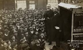heretic rebel a thing to flout george bernard shaw wit wisdom shaw as a socialist stump speaker 1910