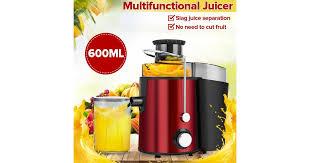 AUGIENB 600ml Fruit <b>Juice Blender Electric Portable Juice</b> Extractor ...