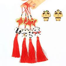 ETIUC Handmade 4PCS Set Chinese Knot Tassel ... - Amazon.com