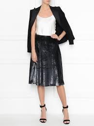 Love Moschino черная юбка-<b>трапеция</b> на молнии (487611). Цена ...