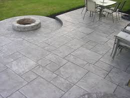 ideas modern concrete patio full size stamped concrete patios driveways amp walkways columbus ohio custom co