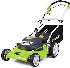 Greenworks 20-Inch 3-in-1 12 Amp Electric Corded ... - Amazon.com