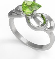 <b>Кольцо</b> Intalia, серебро 925, <b>хризолит</b>, 19, 11052-012-<b>9</b> — купить ...