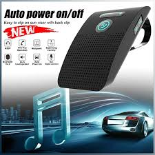 New 2019 <b>Wireless Car Bluetooth V4.2</b> Bluetooth Handsfree Car Kit ...
