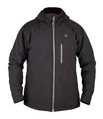 Amazon.com: Prosmart Men's <b>Heated Jacket with hood</b> and 12Volt ...