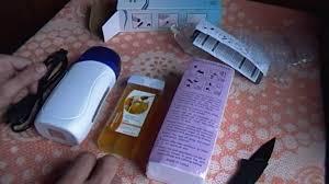 Посылка из китая с сайта Aliexpress epilation. восковой эпилятор ...