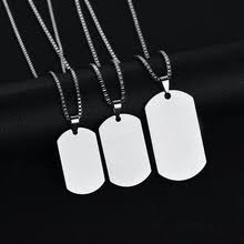 Buy <b>black dog tag</b> and get free shipping on AliExpress