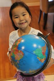 chein world globe child so i got a cheap little globewhich little m loved because it had quotb