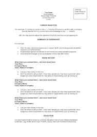 resume objectives examples for career  seangarrette coresume objectives examples