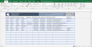 contact list excel template template contact list excel template