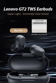<b>Lenovo GT2 TWS</b> Earbuds Global Launch with Best Price, Buy Now