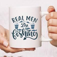<b>Real Men Do Fishing</b> Mug | Fishing Gift