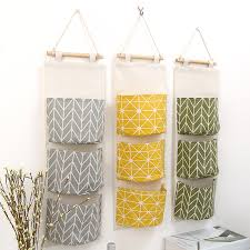 Urijk <b>Multilayer 3 Pockets</b> Wall <b>Hanging</b> Organizer Kitchen Bathroom ...