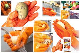 <b>Перчатки</b> Tater Mitts для <b>чистки овощей</b> и картофеля купить в ...