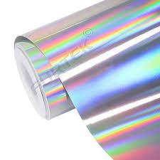 <b>Фольга</b> серебряная голографическая для <b>горячего</b> тиснения
