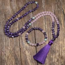 Купите rose mala bead онлайн в приложении AliExpress ...