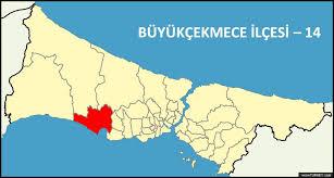Image result for büyükçekmece haritası