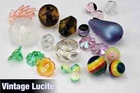 <b>Vintage Lucite Beads</b> – General Bead