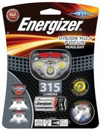 Купить <b>ENERGIZER Фонарь Vision</b> HD + Focus <b>headlight</b> ...