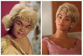 Image result for images of Etta James with Beyonce