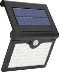 Уличный светильник на солнечной батарее с датчиком ...