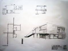 images about RESIDENTIAL    Holiday House on Pinterest    Rose seidler house graphic drawings  plan views