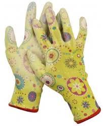 <b>Перчатки садовые</b> нейлоновые Pu покрытие 13 класс <b>Grinda</b> ...