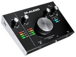 Внешняя звуковая карта <b>M</b>-<b>Audio M</b>-<b>Track</b> 2x2 — купить по ...