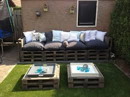 wooden pallet sectional patio furniture