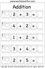 1000+ ideas about Kindergarten Addition on Pinterest | Addition ...Beginner Addition – 5 Worksheets